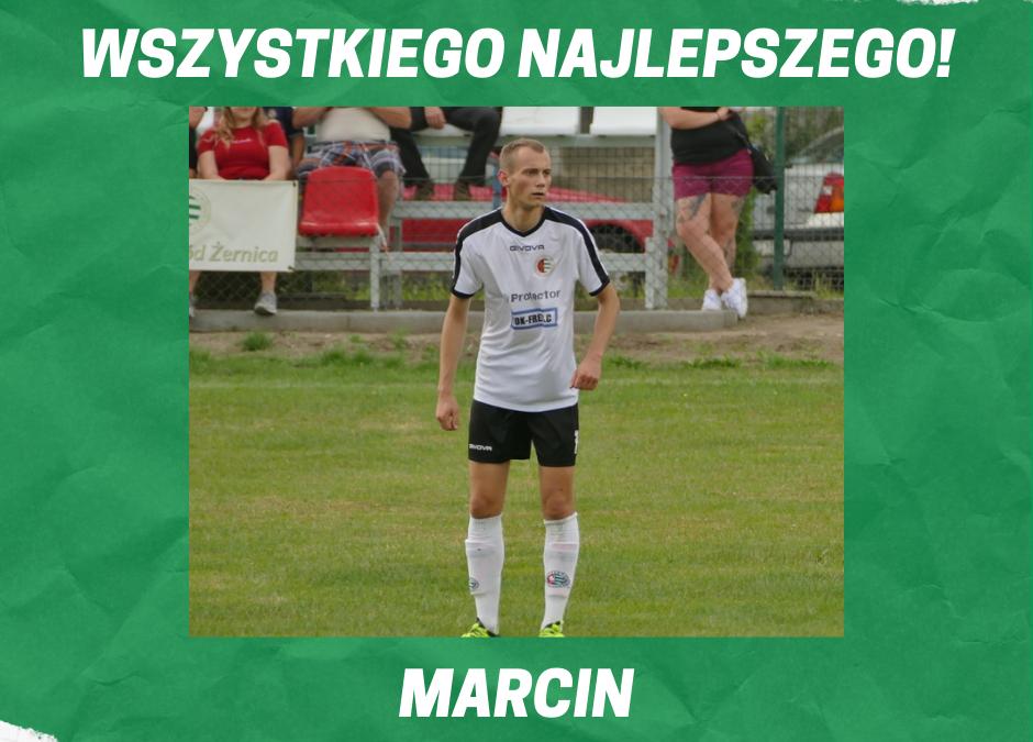 Wszystkiego najlepszego Marcin!