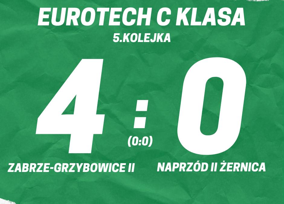 Eurotech C klasa: KS Zabrze-Grzybowice II 4:0 Naprzód II